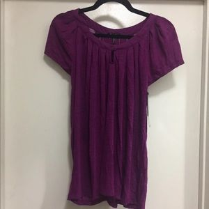 Daisy Fuentes Pleat Top